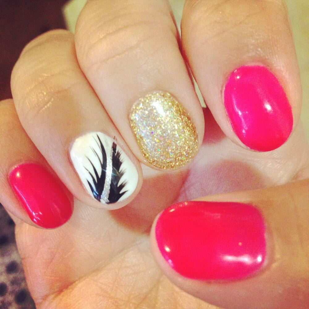 Le Nail Spa: Nail Designs Are Awesome. I Asked Them To Copy It From A