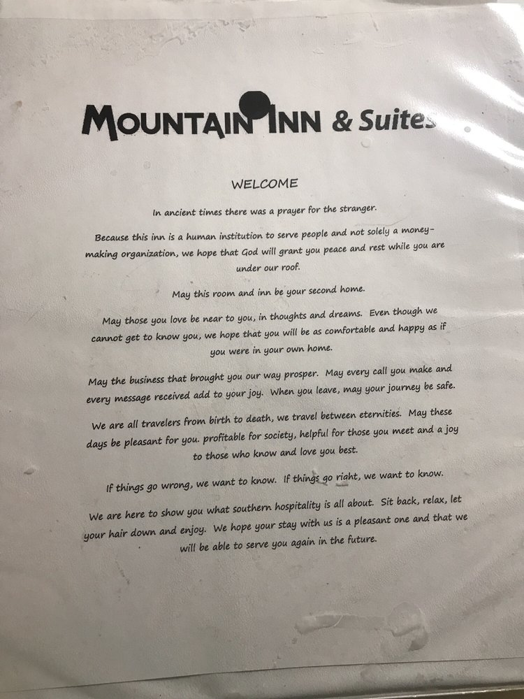 Mountain Inn & Suites: 2002 Temple Hill Rd, Erwin, TN