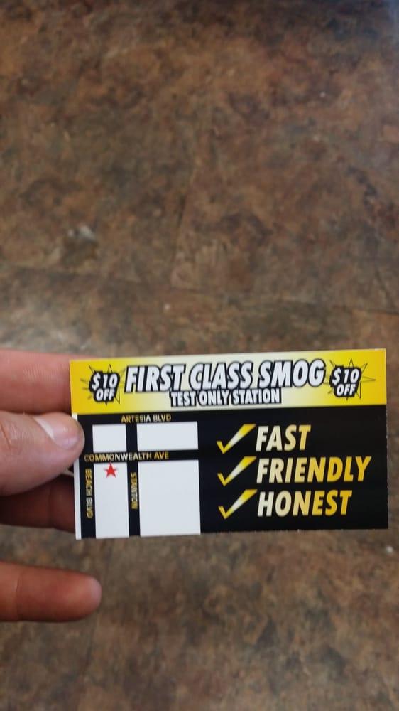 First Class Smog