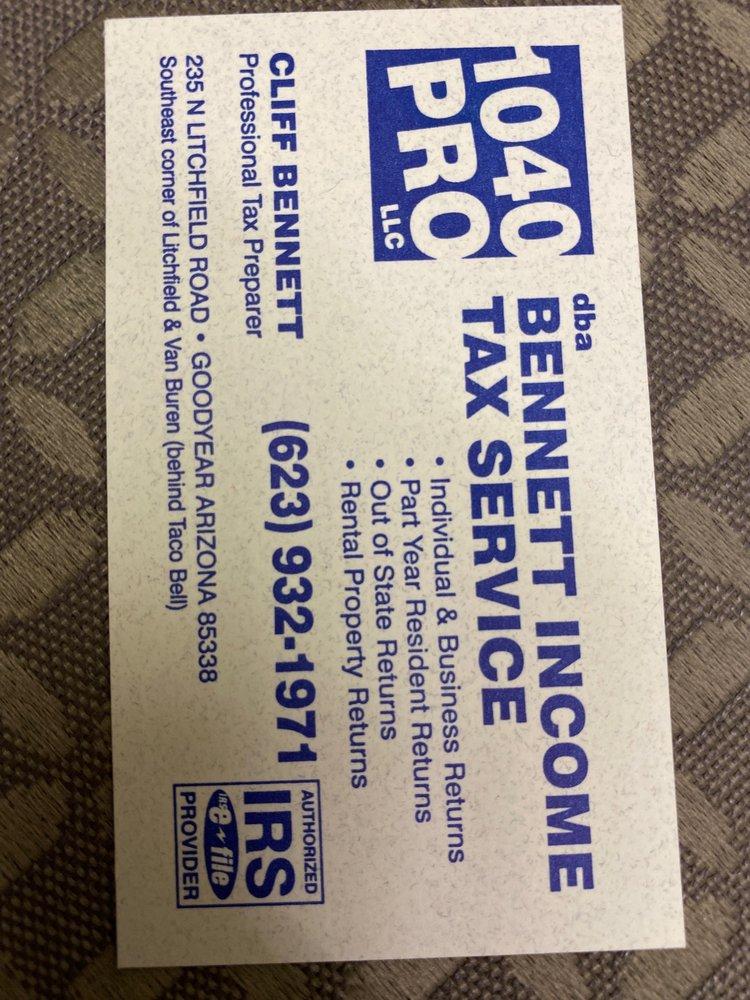 Bennett Income Tax Service: 235 N Litchfield Rd, Goodyear, AZ