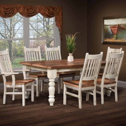 Photo Of Amish Furniture Connection   Bellefonte, PA, United States.  Farmhouse Table U0026