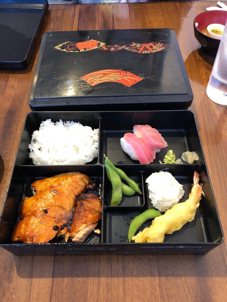 Food from Kuniko's Teriyaki Grill