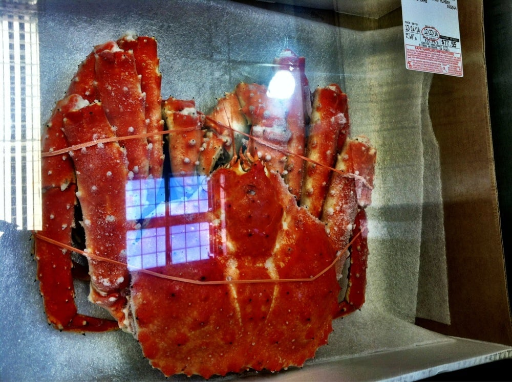 Alaskan King Crab $15 99 per lb  (About $75 for one) - Yelp