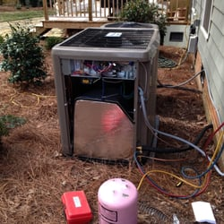 Photo Of J L Patterson Charlotte Nc United States New Heat Pump Installation