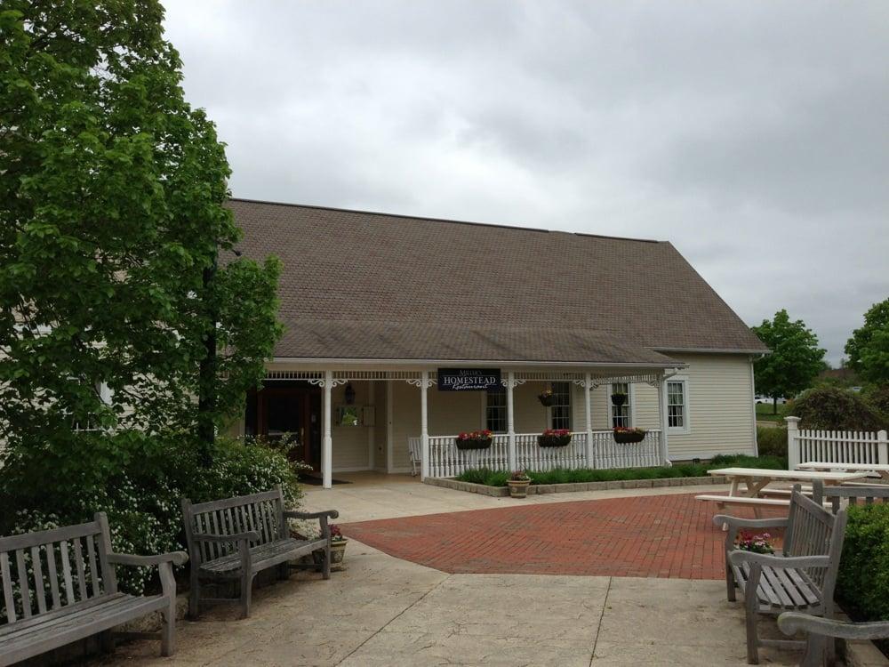 Millers Homestead Restaurant: 5565 Raiders Rd, Frazeysburg, OH
