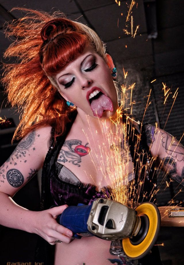 girl grinder
