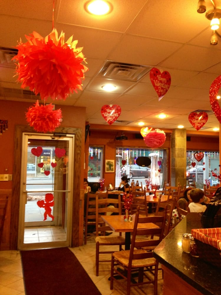 Photo Of Italian Pizza Kitchen Washington Dc United States Valentines Day  Decorations