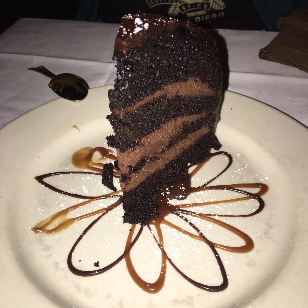 Chocolate zuccotto cake - Yelp