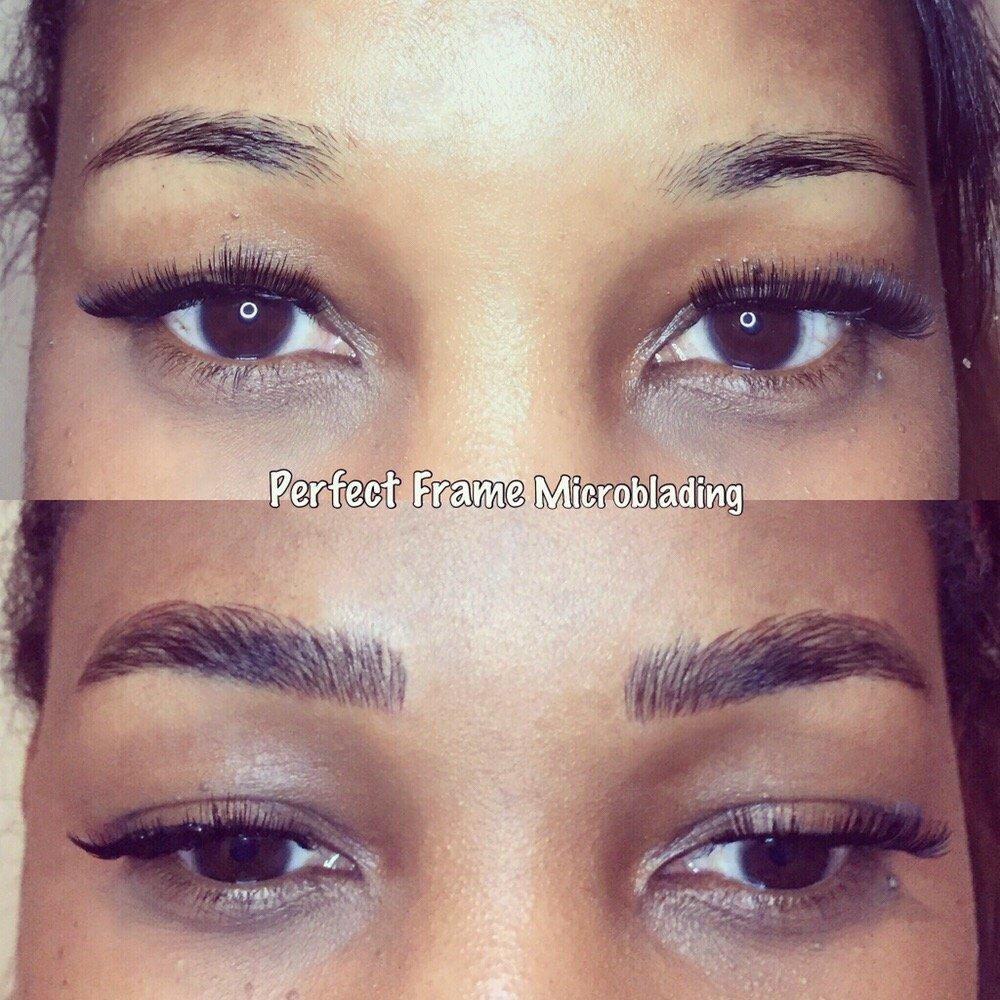 Microblading Eyebrows By Jonathan Of Perfect Frame Yelp
