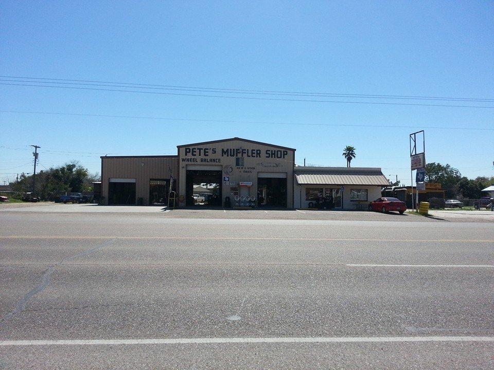 Pete's Muffler Shop: 139 W Expressway 83, La Joya, TX
