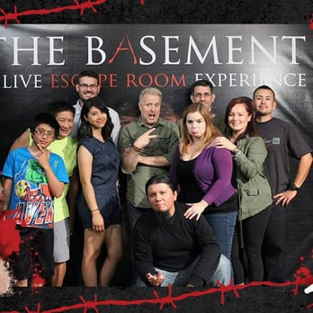 The Basement A Live Escape Room Experience 124 Photos