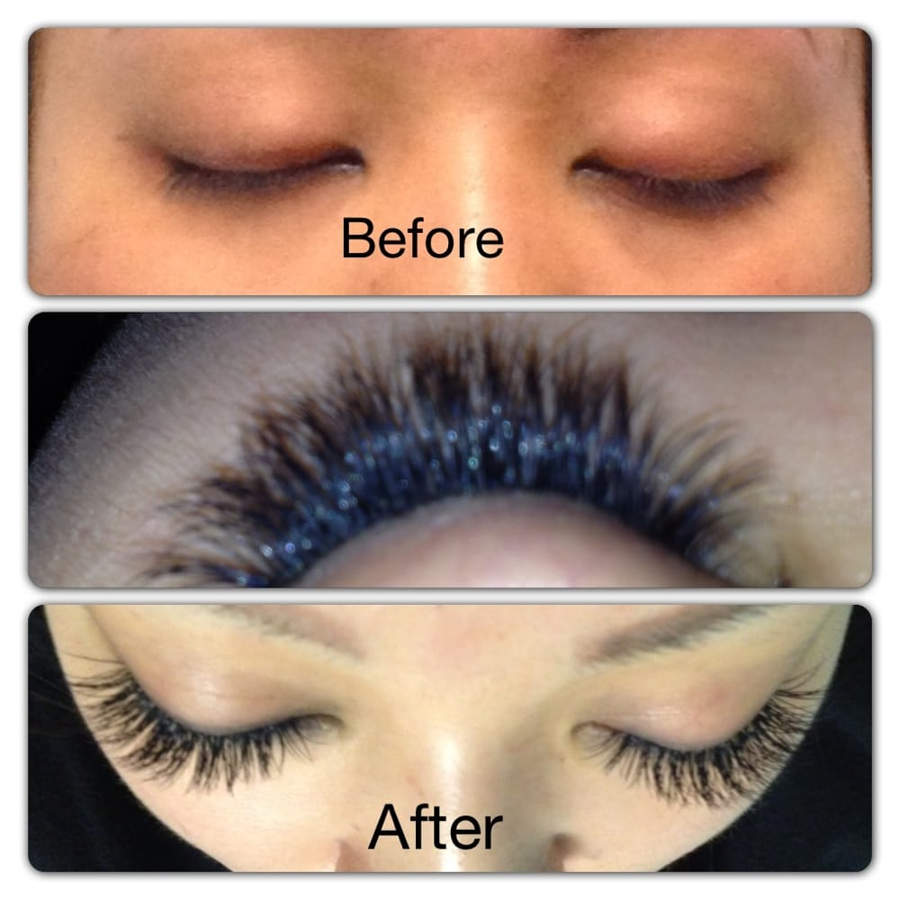 Individual Multiple Layer Eyelash Extensions For Every New Client