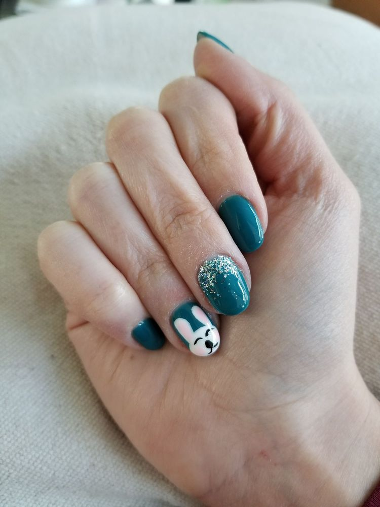 Some designs done by Amy at Envy Nails. They do a fantastic job! - Yelp