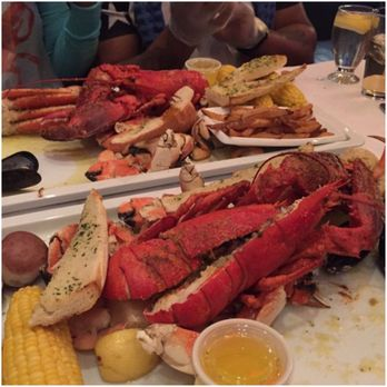 Photo Of Crab Spot Restaurant Brooklyn Ny United States Two Lobster Meals