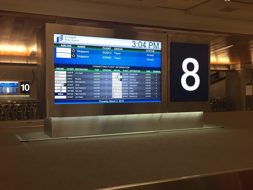 Lax International Terminal Baggage Claim 14 Reviews