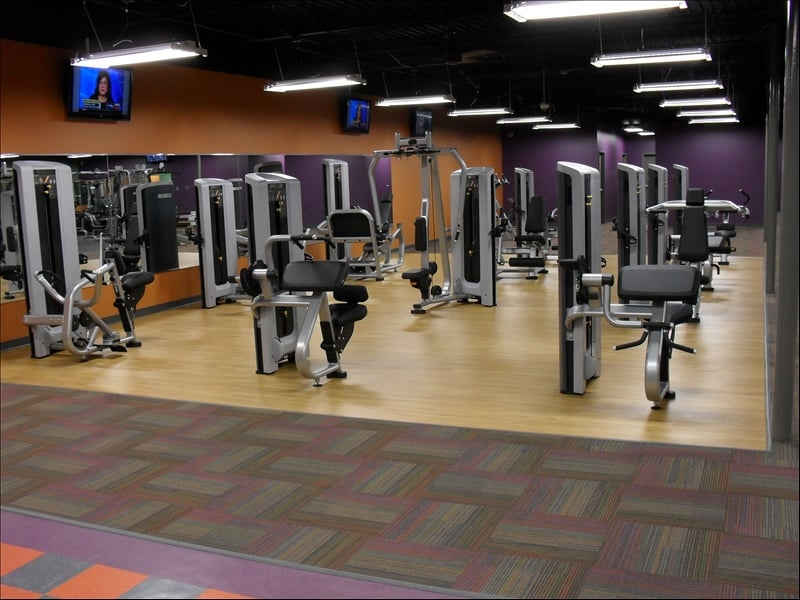 Anytime Fitness: 1107 N Forest Ave, Marion, IN