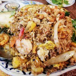 Photo Of Erawan Thai Columbus Oh United States Pinele Fried Rice Combination