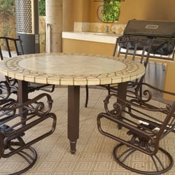 Etonnant Photo Of Patio Furniture Rescue   Phoenix, AZ, United States. Round Stone