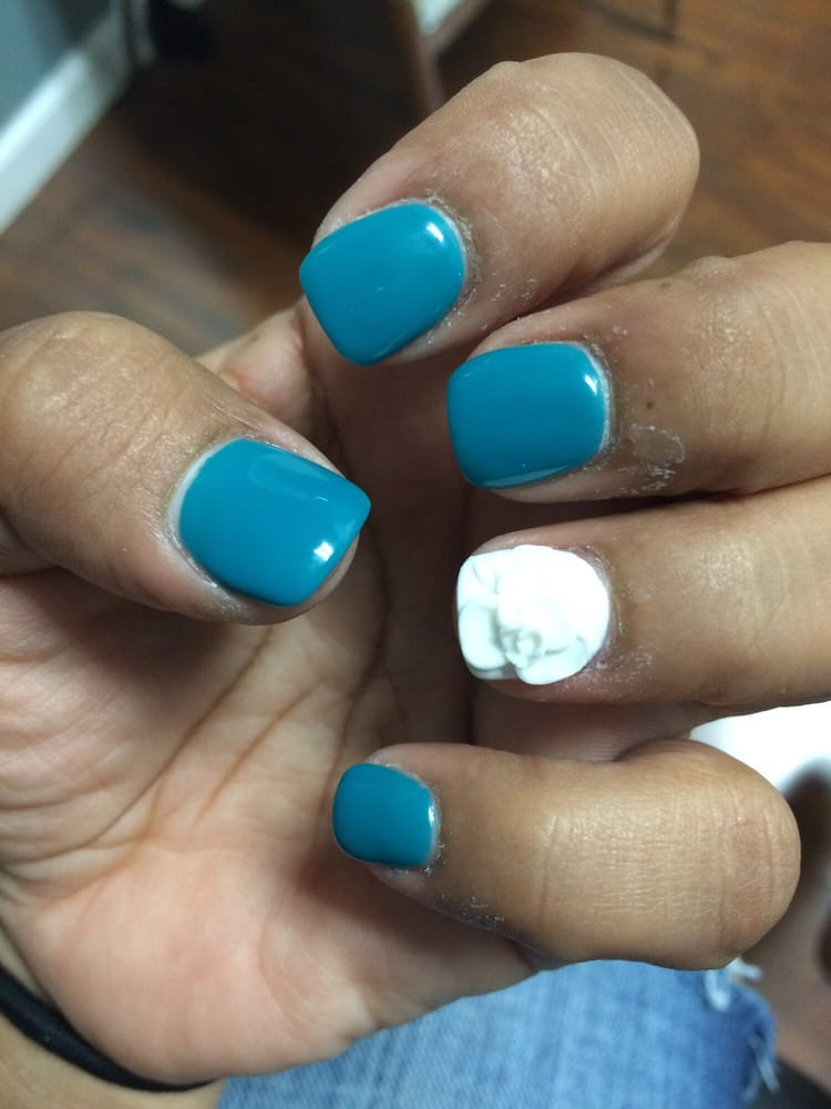 My nails i love them i will be coming here for now on they for A perfect 10 nail salon
