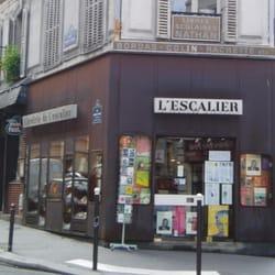 Librairie de l\'escalier - Libraries - 12 rue monsieur le prince ...