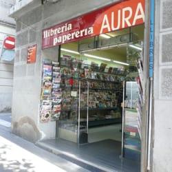 Aura llibreria i papereria material de oficina carrer for Material oficina barcelona