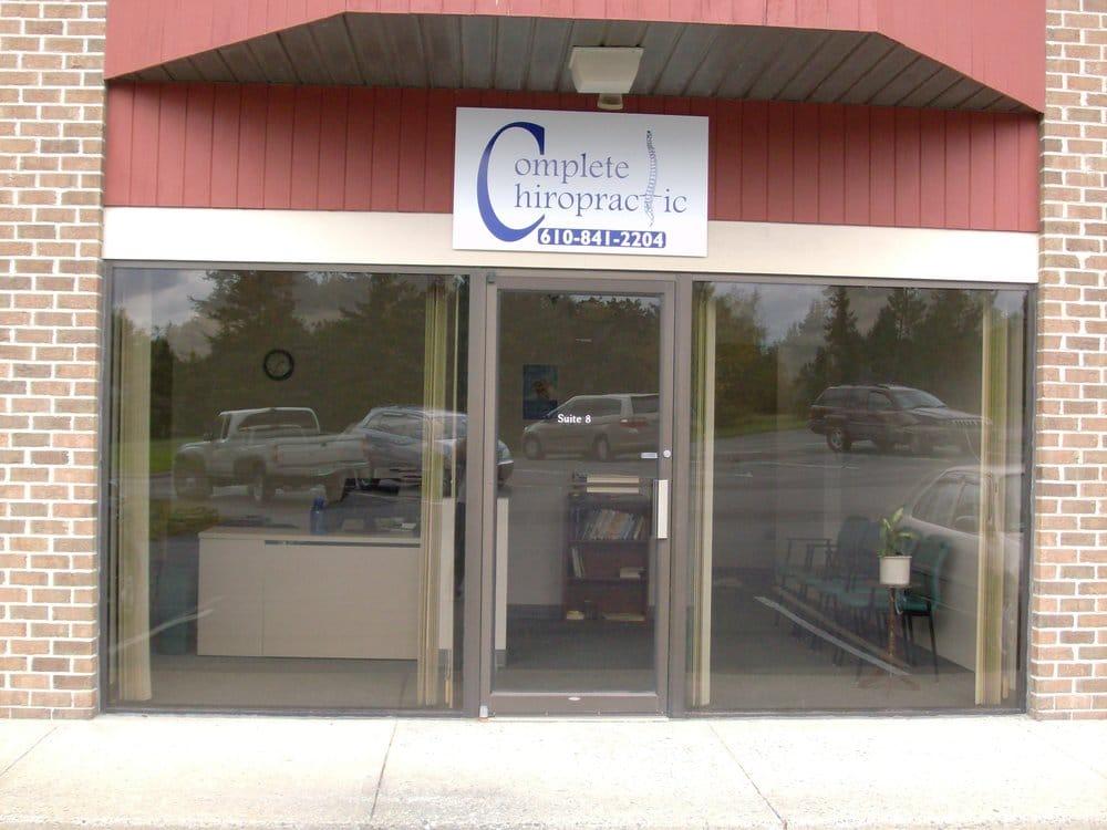 Complete Chiropractic: 5930 Hamilton Blvd, Allentown, PA