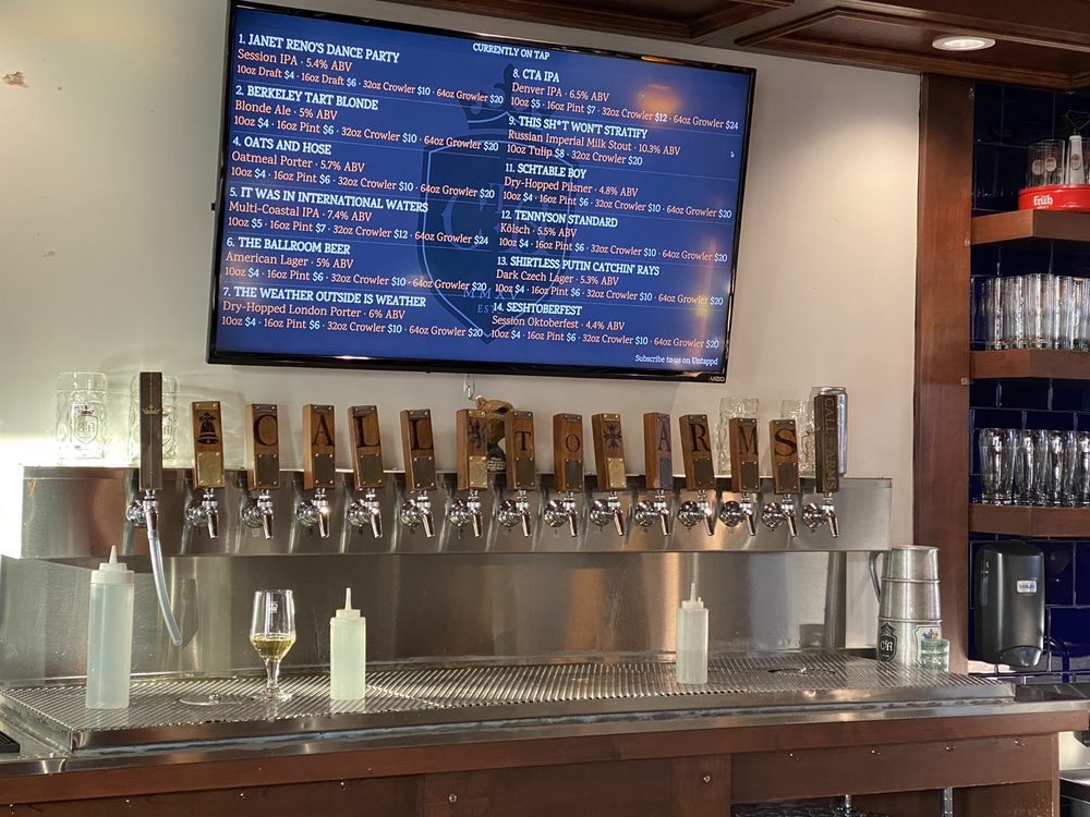 Call To Arms Brewing Company: 4526 Tennyson St, Denver, CO