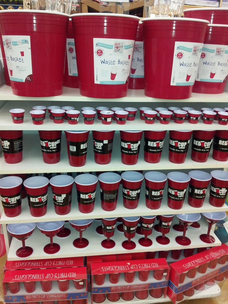 Red Solo Cup Trash Can Bed Bath And Beyond