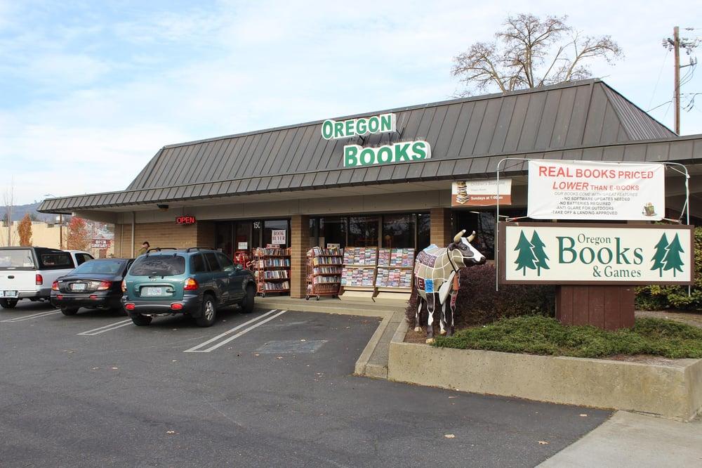 Oregon Books: 150 NE E St, Grants Pass, OR