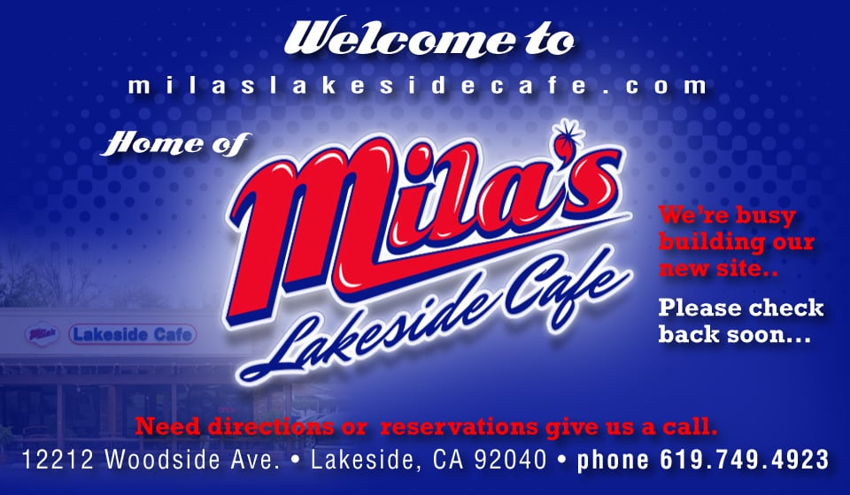 Mila S Lakeside Cafe Lakeside Ca