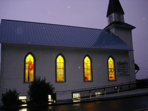 Bay City United Methodist Church: 5695 D St, Bay City, OR
