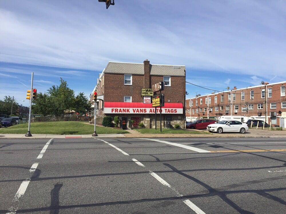 Frank Van's Auto Tags: 2450 Cottman Ave, Philadelphia, PA