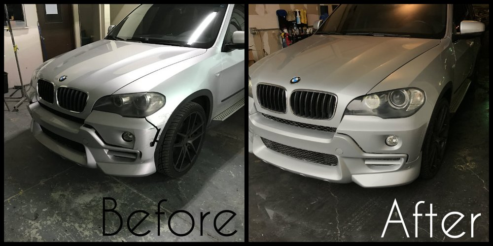 Custom Ac Schnitzer Bmw X5 Front End Collision Repair Yelp