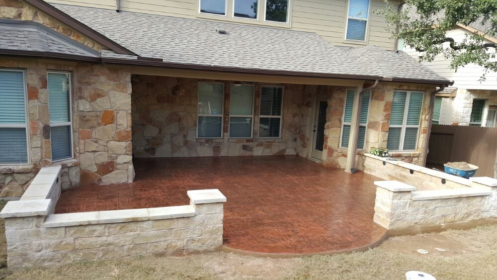 Photo of Central Concrete Creations - Austin, TX, United States. New stamped  concrete