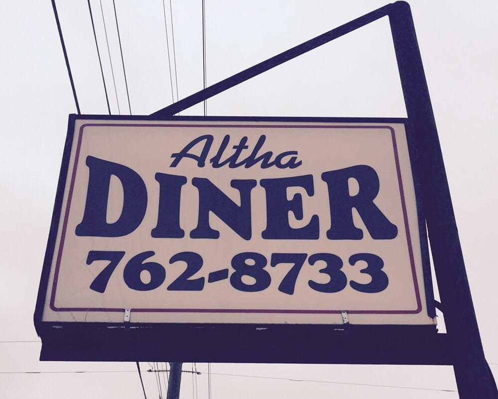 Altha Diner: 25563 N Main St, Altha, FL