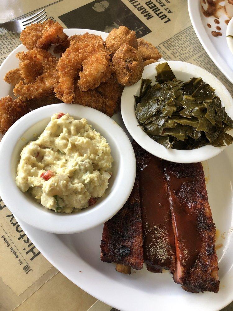 J & J's BBQ & Fish: 751 Indian Hill Blvd, Pomona, CA