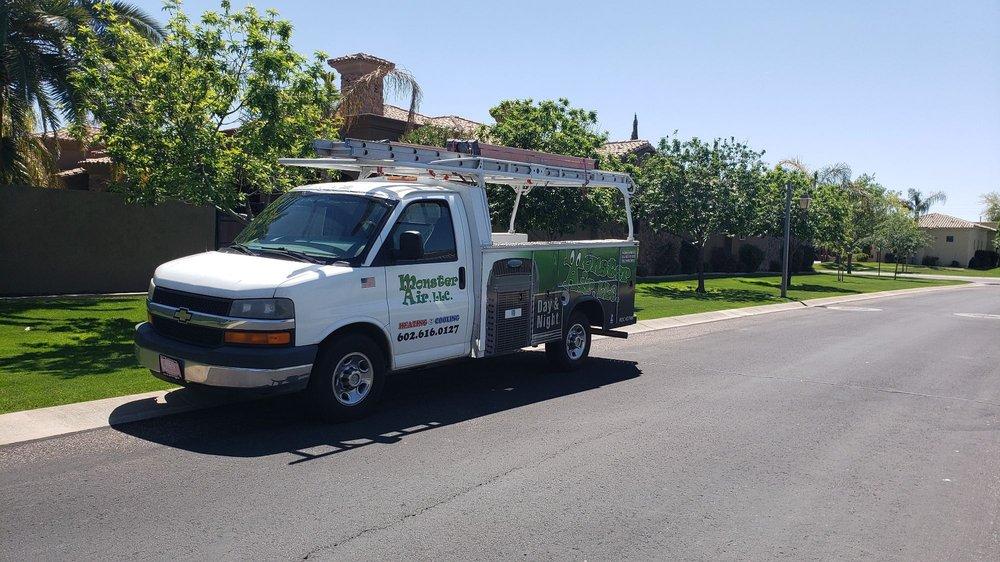 Monster Air & Mechanical: 975 E Riggs Rd, Chandler, AZ
