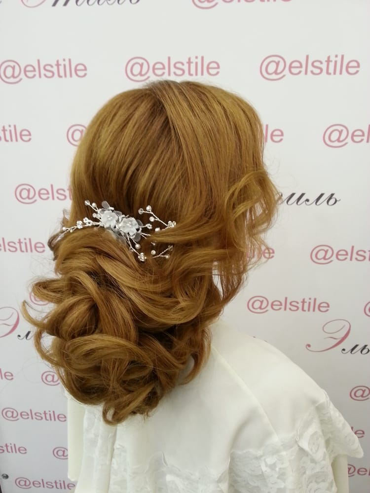 Photo de Elstyle - Pasadena, CA, États-Unis. Bridal hair and make up trial