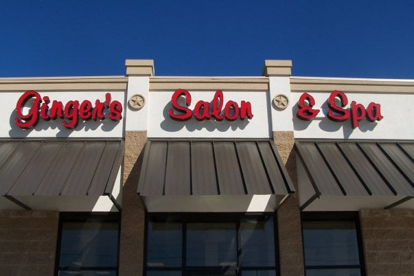 Ginger's Salon and Spa: 700 N Front St, Angleton, TX
