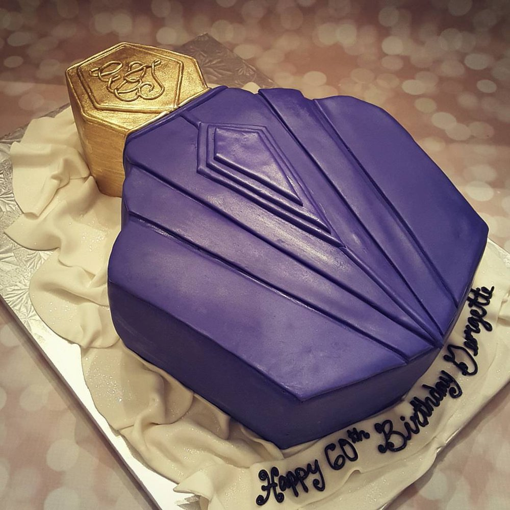 Perfume Bottle Birthday Cake Yelp