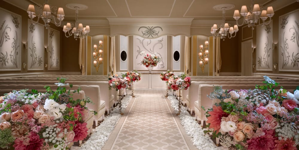 Wynn Las Vegas Wedding Salons