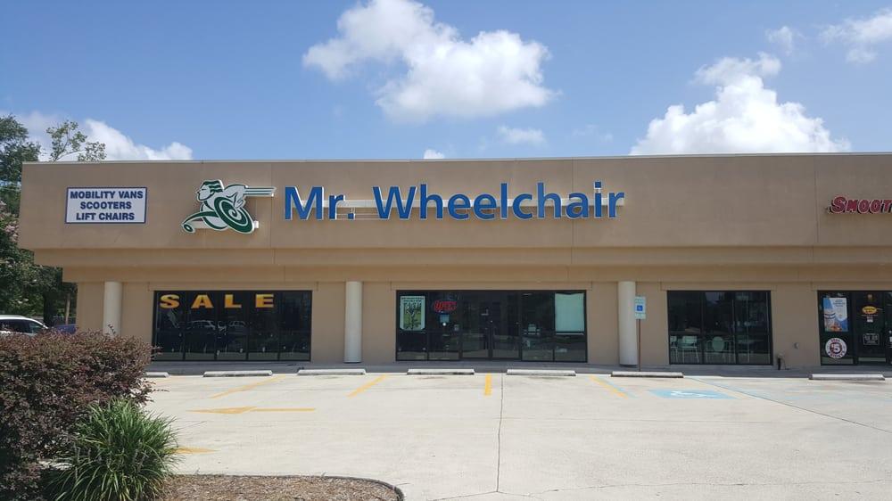 Mr Wheelchair