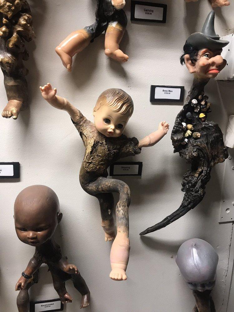 Surreal Art Gallery and Sculpture Garden: 2830 Aurora Ave, El Paso, TX