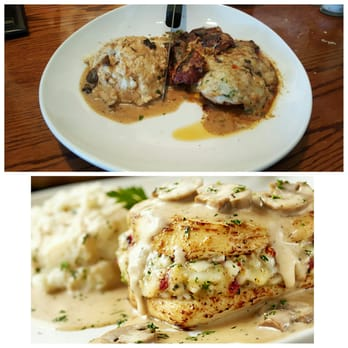 Olive garden italian restaurant 75 photos 92 reviews italian 439 boston post rd orange for Olive garden stuffed chicken marsala