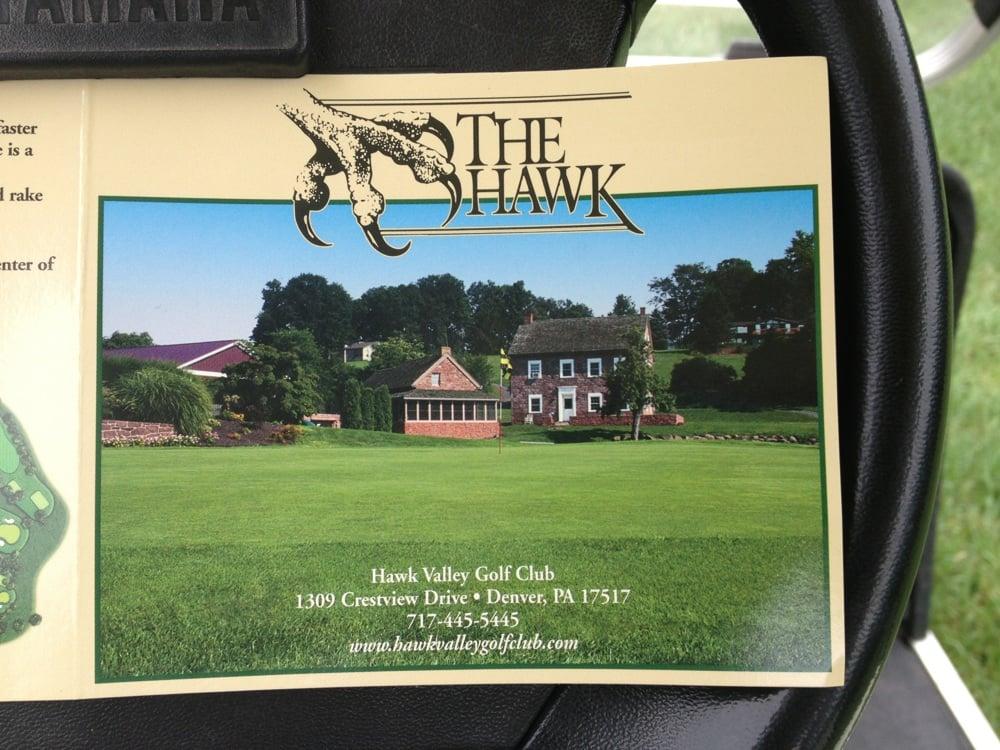 Hawk Valley Golf Club: 1309 Crestview Dr, Denver, PA