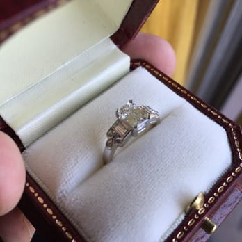 Photo Of Bracken Jewelers Venice Ca United States Custom Enement Ring With