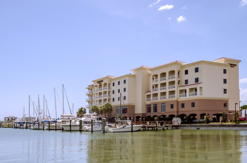 Courtyard by Marriott St. Petersburg Clearwater/Madeira Beach: 601 American Legion Dr, Madeira Beach, FL