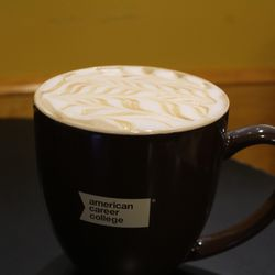 Photo Of The Coffee Nest Anaheim Ca United States Caramel Cuccino