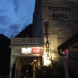Photo Of Historic Western Hotel Ouray Co United States Night Time