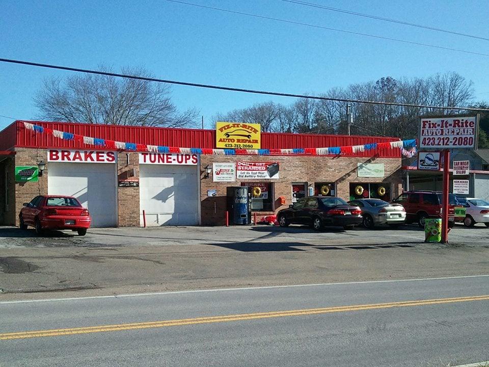 Fix It Rite Auto Repair: 1965 Feathers Chapel Rd, Blountville, TN